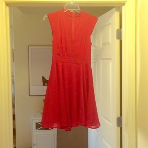 French connection red cocktail dress